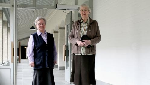 Op bezoek bij de zusters
