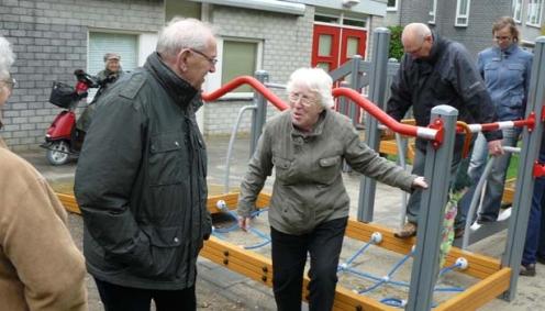 Fitnessapparaat voor ouderen verhuist naar PCM Heusdenhout